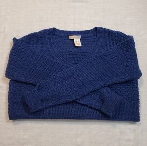 DKNY Jeans Blue knit sweater size S